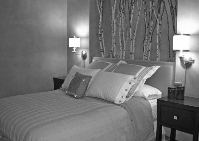 BLACK AND WHITE Twig Bedroom 1