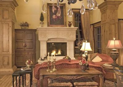 WEB limestone fireplace